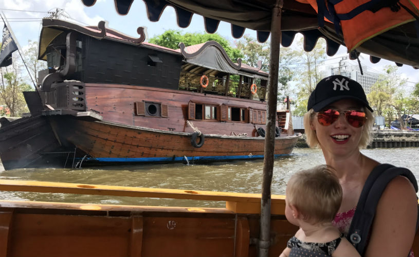 Boat, Bangkok: 9 reasons why an Ergobaby 360 is the best baby carrier for travel