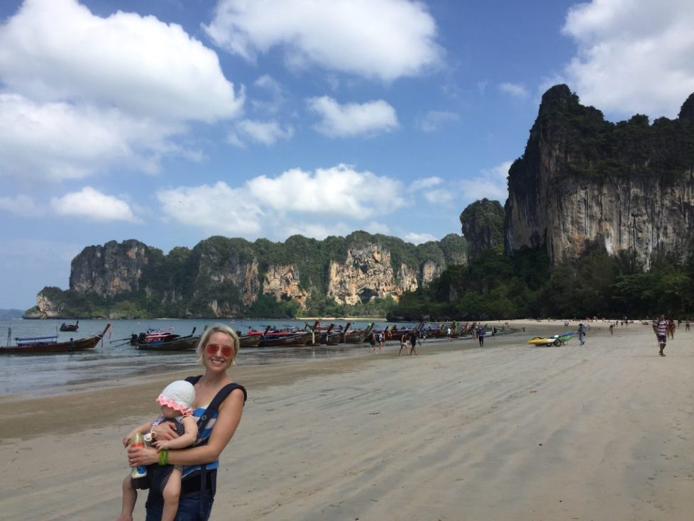 About Angharad Paull - Mama Travels Earth - Tips on travelling to Thailand with a baby and toddler