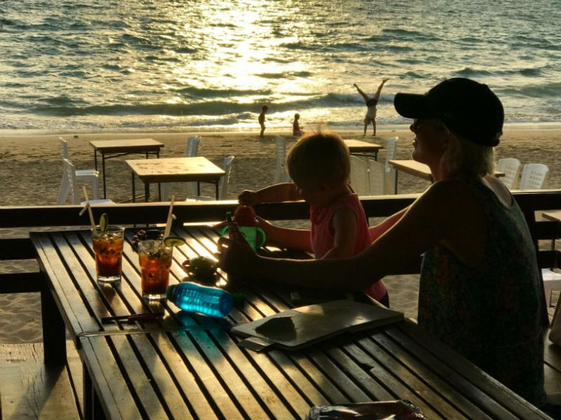 Thailand - Tips for travelling in Thailand with a baby and a toddler