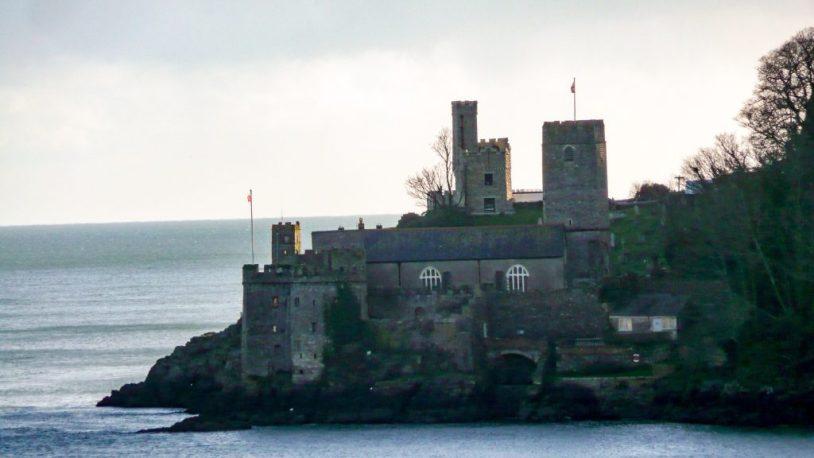 Dartmouth castle Devon UK