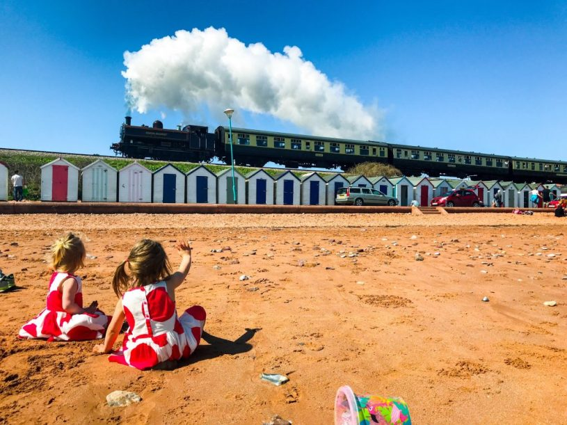 Paignton - Dartmouth steam railway Devon family travel UK: family-friendly things to do near Kingswear