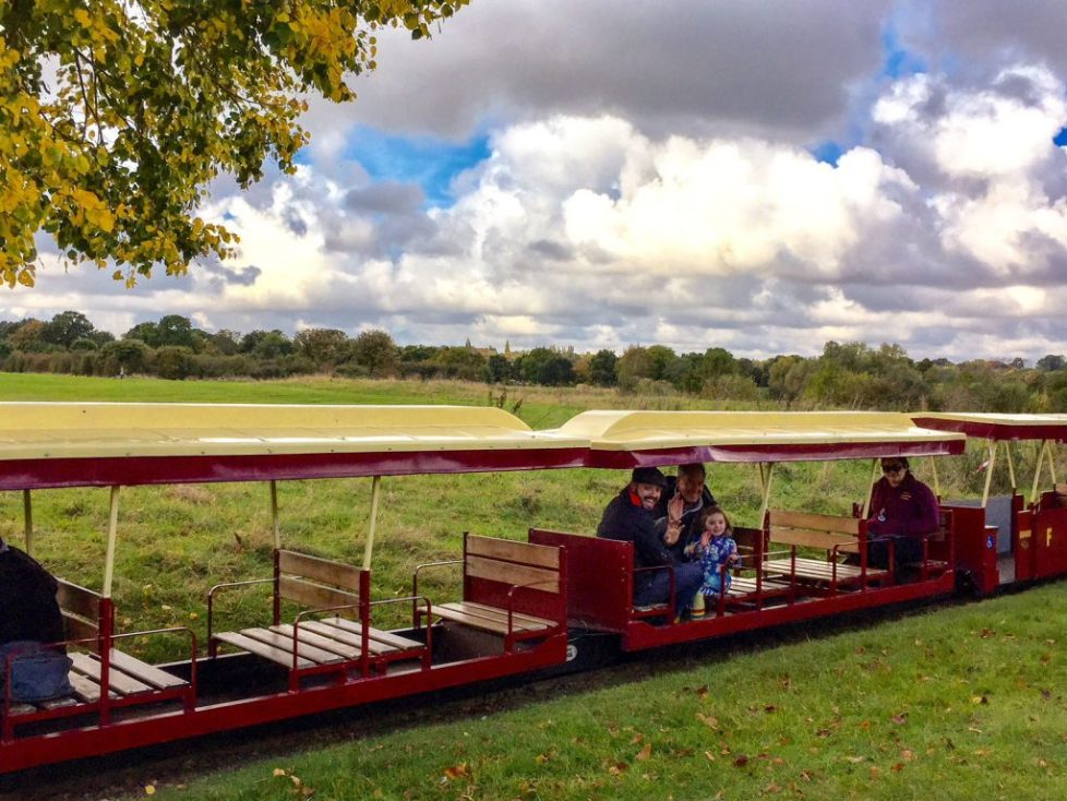 Ferry meadows train, nene valley country park Top 10 things to do in and around Stamford with kids