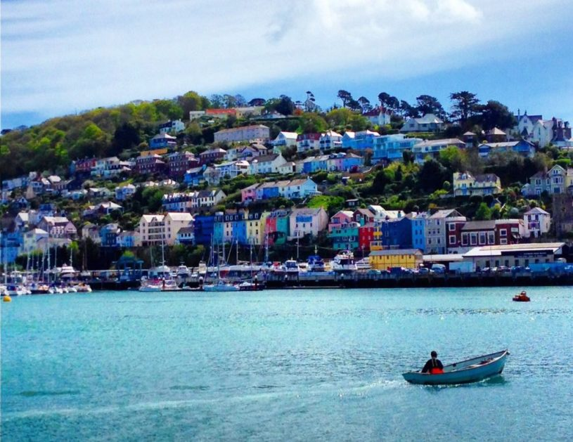 View of Kingswear, dart estuary : family-friendly things to do near Kingswear