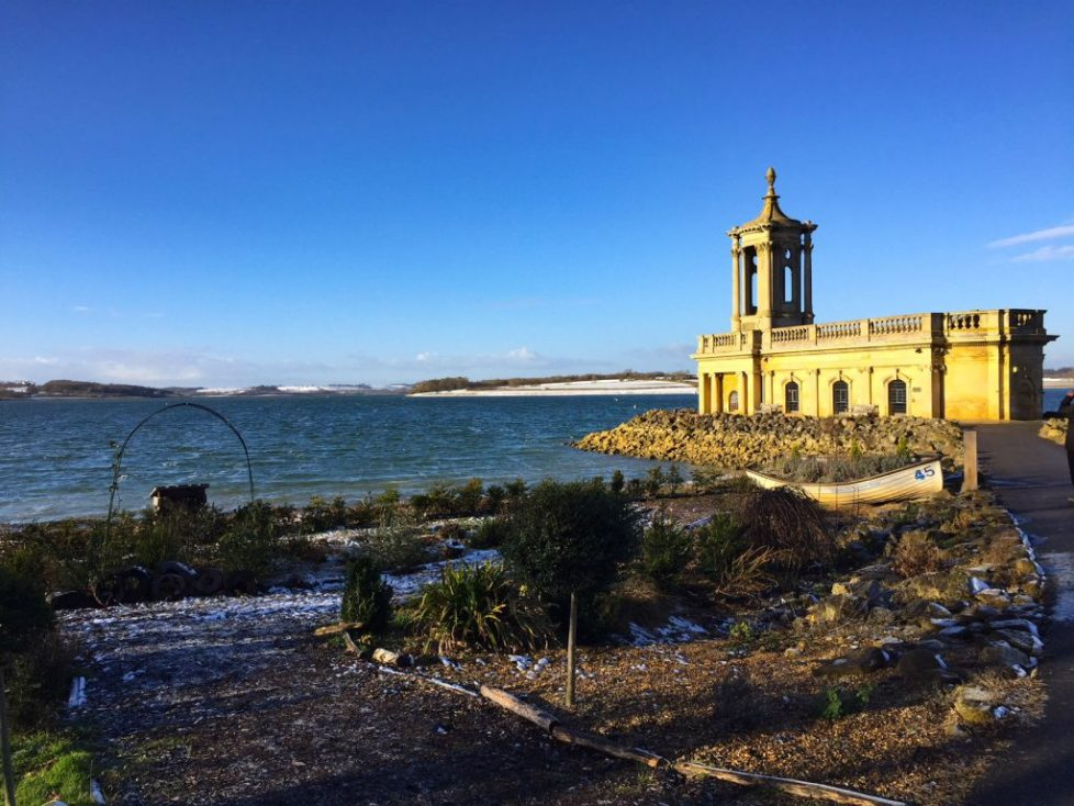 Rutland water sunken church, 10 things to do in Stamford with kids