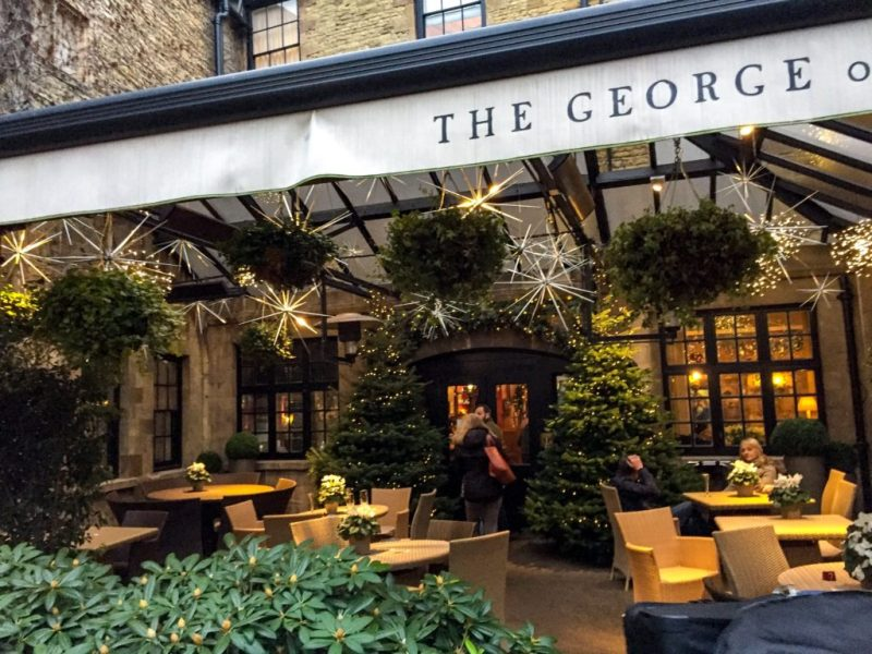 the george hotel stamford