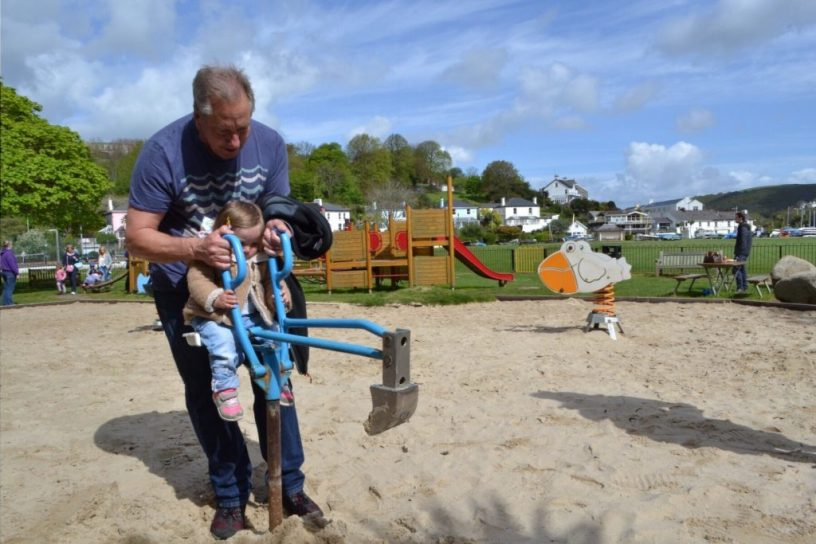Kids park Dartmouth Devon family travel UK: family-friendly things to do near Kingswear