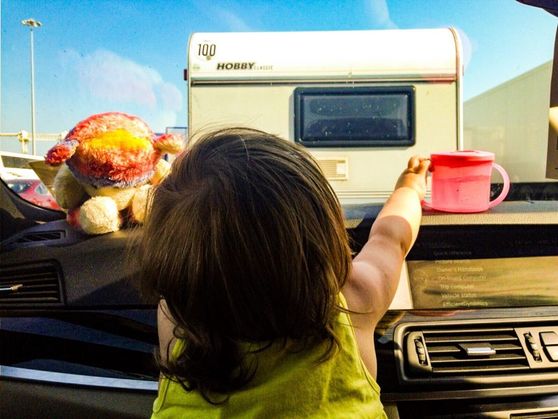 Tips on surviving a road trip to France with a toddler