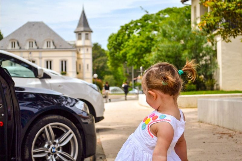 Travelling with toddlers: road trip to france