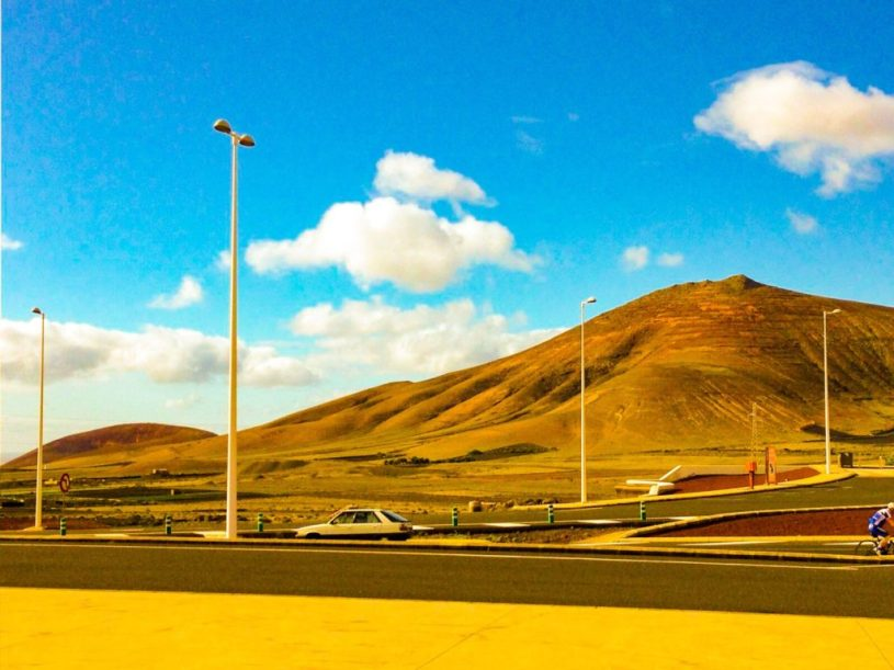 Lanzarote_road_canary islands