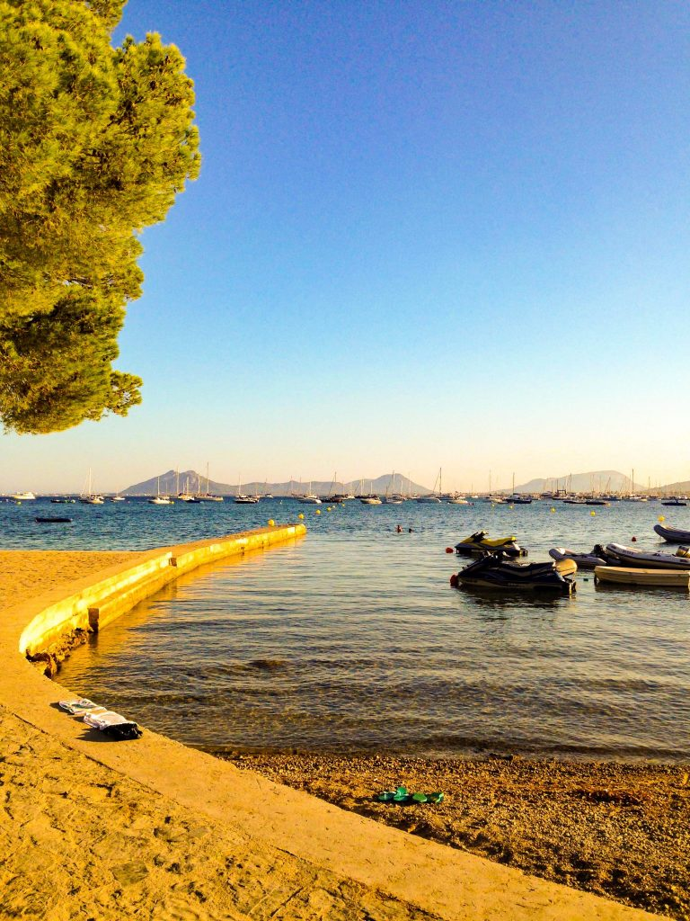 Puerto Pollensa - holidays in Mallorca with a baby: holiday tips