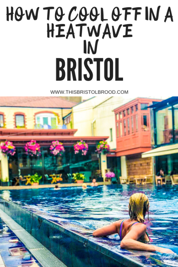 Britain heatwave - how to cool off in bristol