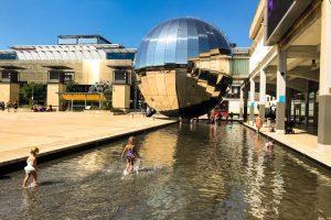 Britain heatwave: cool off in bristol