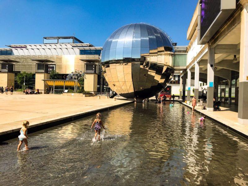 Millennium Square Fountains, Bristol