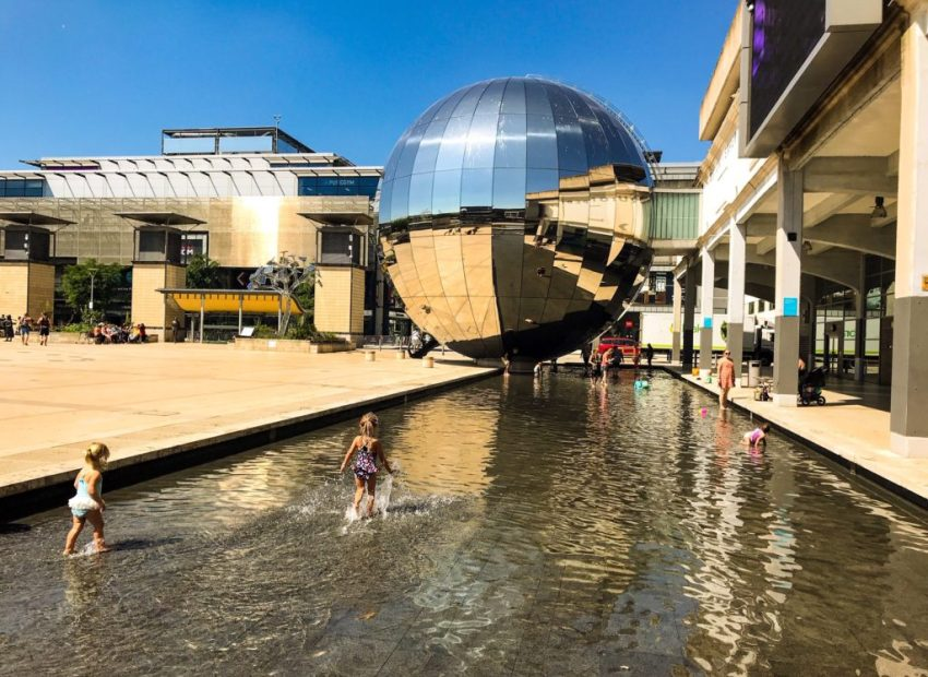 Britain heatwave: cool off in bristol
