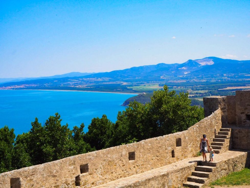 Populonia: Best campsites in tuscany - Park Albatros, San Vincenzo Tuscany, Italy