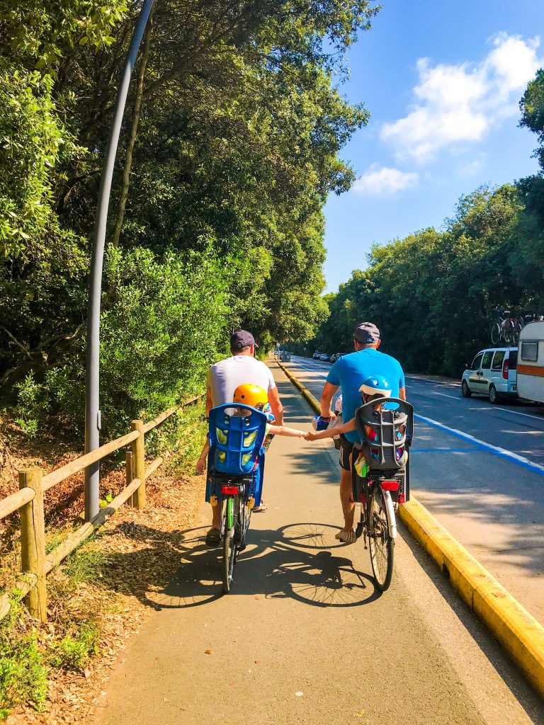 Cycling - 9 unmissable things to see near San Vincenzo, Tuscany with kids