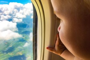 Tips for long haul flights with a baby and a toddler