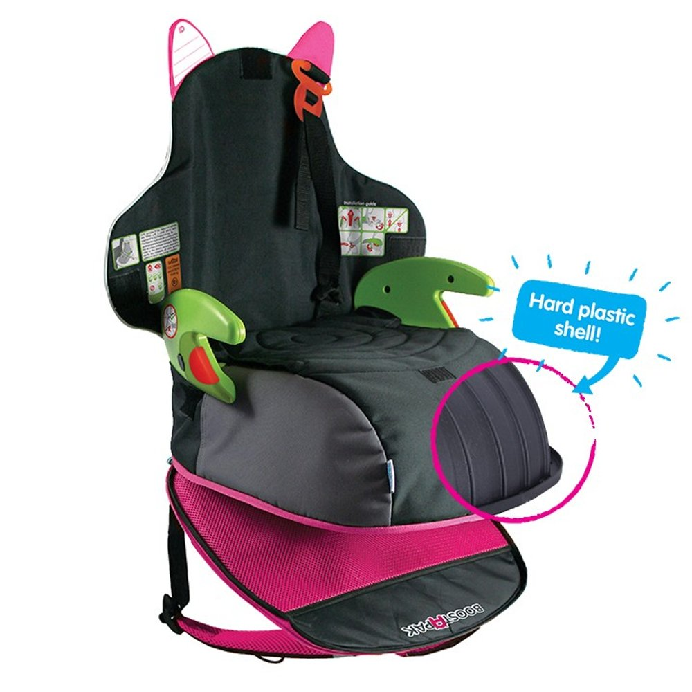 Review: Trunki BoostApak Booster Seat: toddler travel car seat