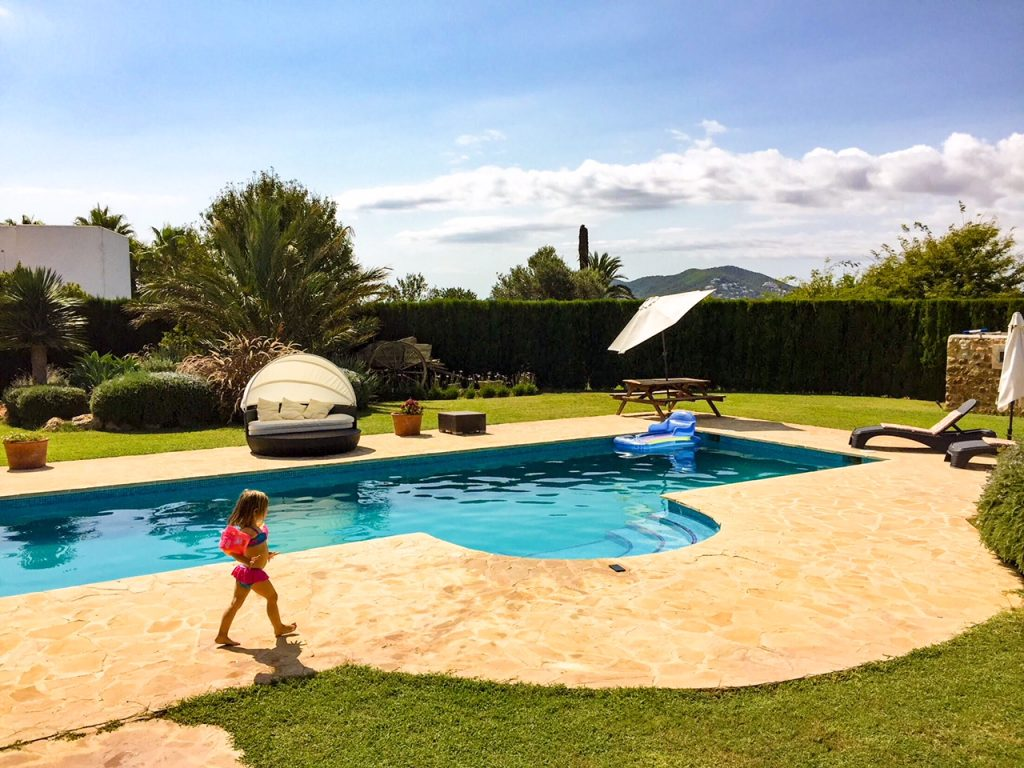Family-friendly villa ibiza