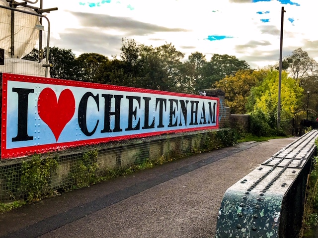 Cheltenham with kids bike tour love cheltenham