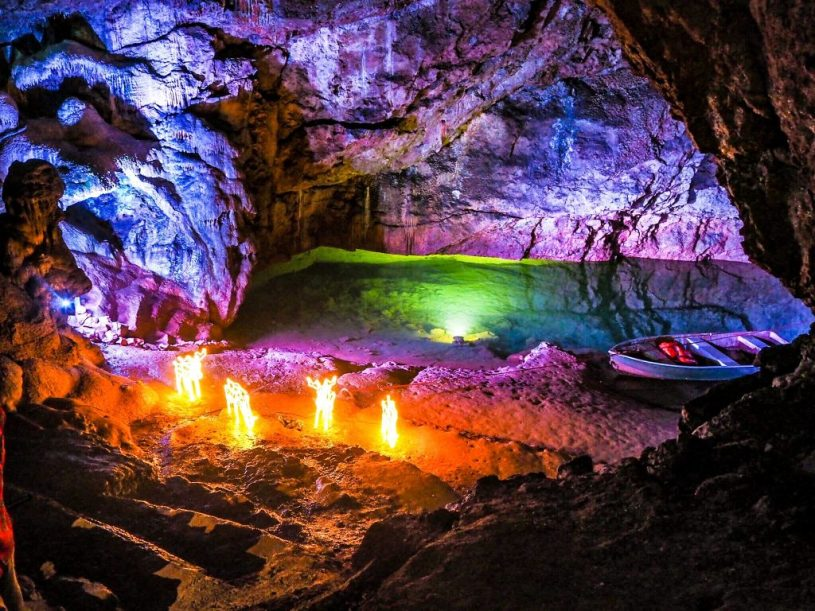 Wookey Hole Caves - Christmas activities for kids in bristol