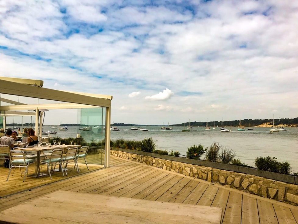 restaurants in Poole - shell bay