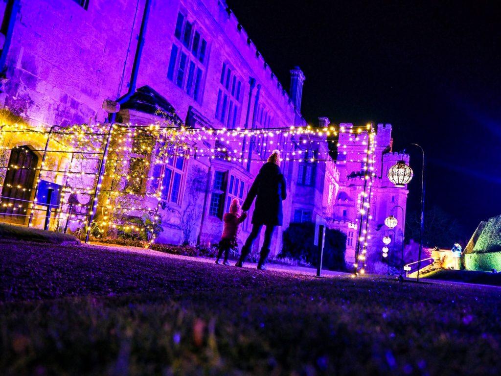 Festive feels at Sudeley Castle Light Show