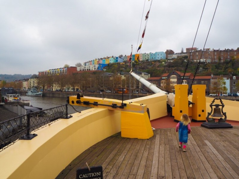 Onboard Brunel's SS Great Britain