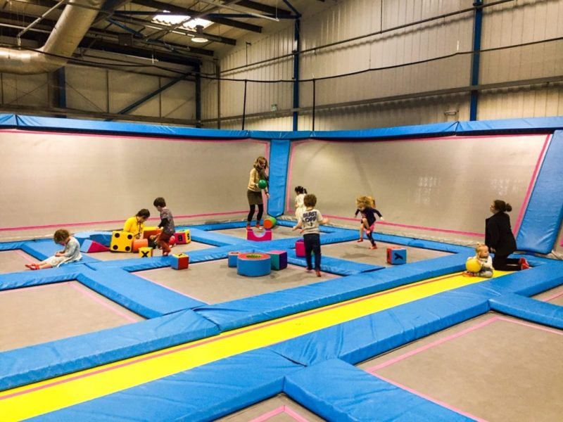Airhop Bristol trampoline park_just off the motorway