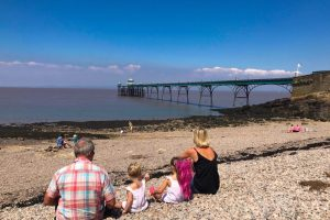 Just off the motorway - Clevedon Pier