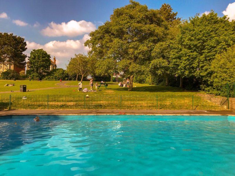 St Andrews Park paddling pool, Bristol