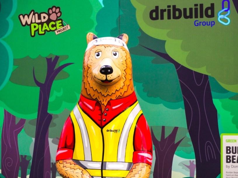 Bear Wood sculptures Wild place project bristol