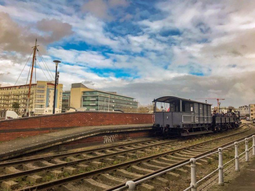 M Shed dockside train Bristol activities