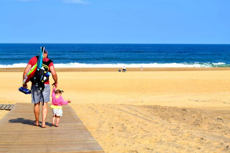 French beach near Hossegor