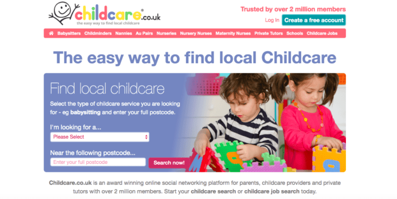 childcare.co.uk - website review
