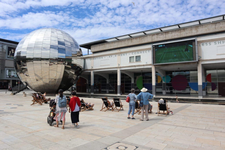 Millennium Square Big Screen Bristol