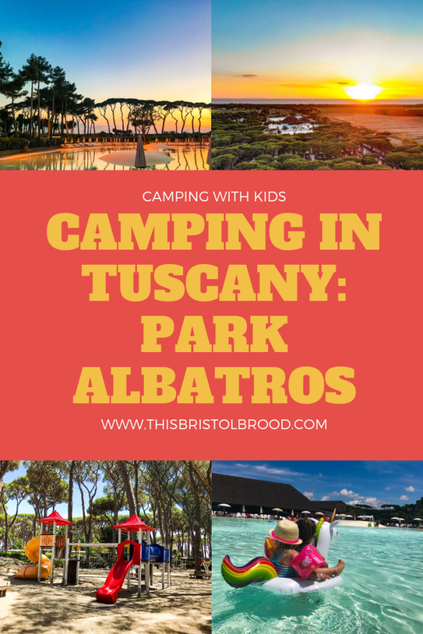 Camping in tuscany: park albatros