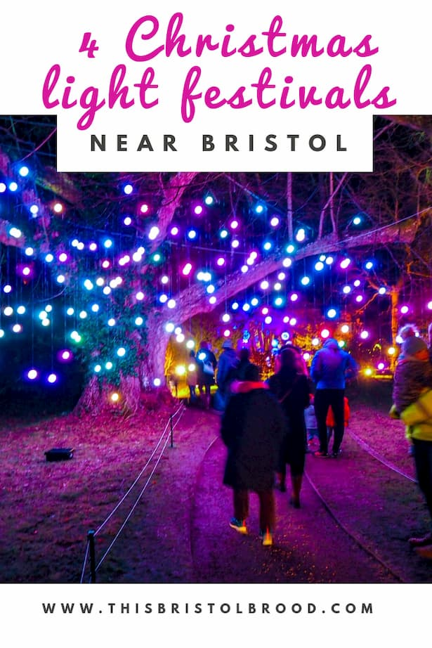 4 of the best Christmas light festivals near Bristol