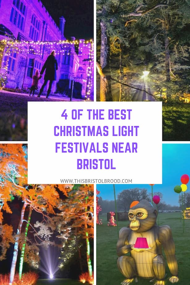 Four of the best Christmas light festivals near Bristol