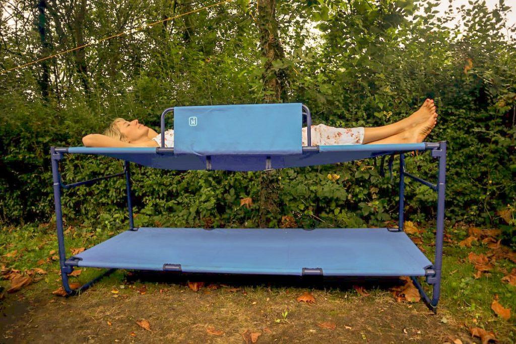 Camping bunk beds for kids - Hi Gear duo
