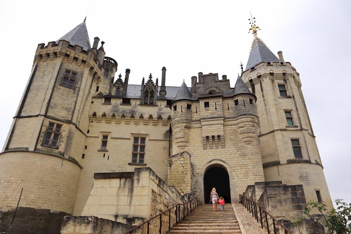 Chateau de Saumur Loire Valley France
