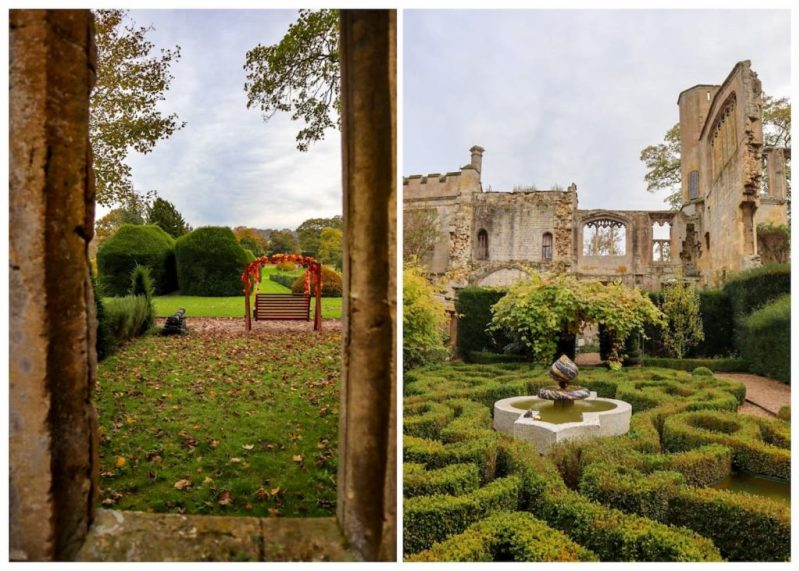 Sudeley Castle gardens and ruins