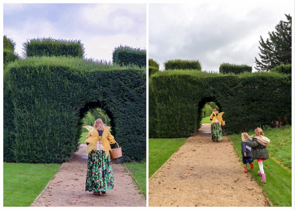 Fairy Godmother at Sudeley Castle gardens