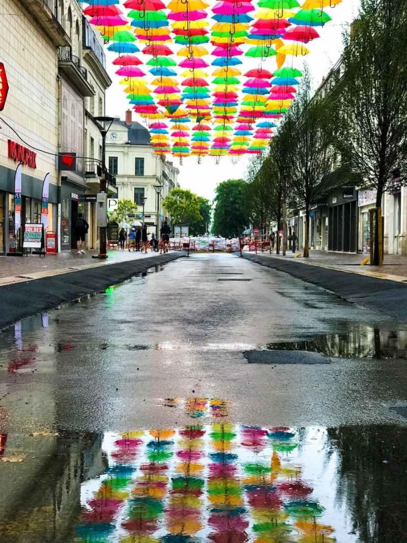 Umbrellas - Saumur - France