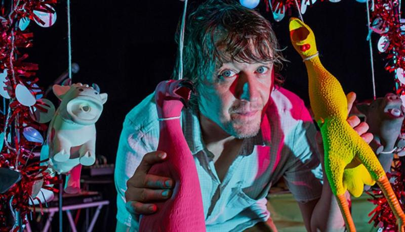 Kid carpet's noisy nativity at Tobacco Factory Theatres