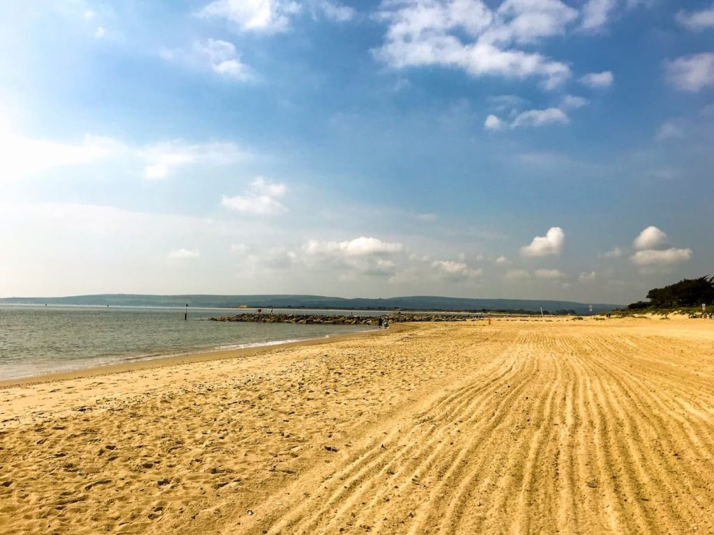 Sandbanks beach, Dorset
