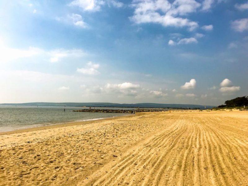 Sandbanks beach, Dorset