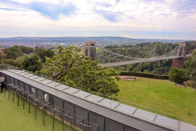 Clifton Observatory, 360 Cafe, Clifton Suspension Bridge