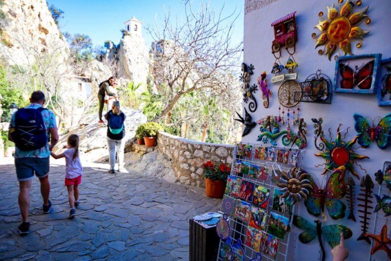 Castel de Guadalest town trinkets