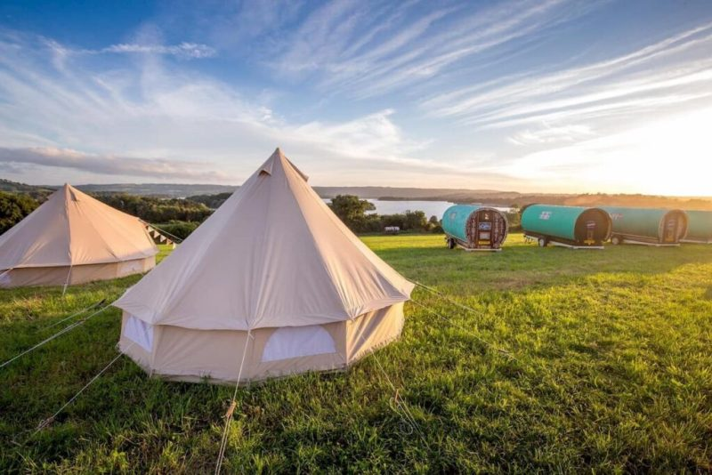 Pop Up Paradise Camping Chew Magna